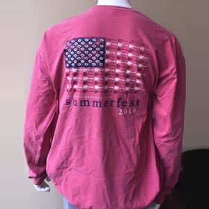 Picture of American Flag Long-Sleeved Tee