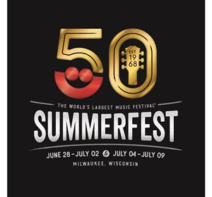 Picture of 2017 Summerfest 50th Commemorative 1-Day Ticket