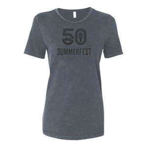 Picture of Summerfest 50th Ladies Mineral Wash Tee