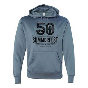 Picture of Summerfest 50th Grey Poly Performance Hood