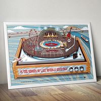 Picture of Limited edition Record Player Poster by Whaleskin