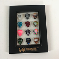 Picture of Framed Guitar Pick Set