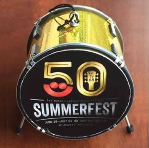 Picture of Summerfest 50th Drum Ornament