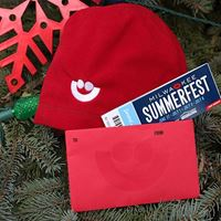 Picture of Summerfest Fleece Beanie and Ticket Holiday Deal