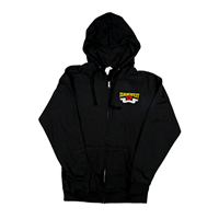Picture of Black Full Zip Hoodie