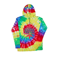 Picture of Rainbow Spiral 68 Hooded Pullover