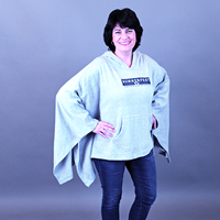 Picture of Heather Hooded Poncho
