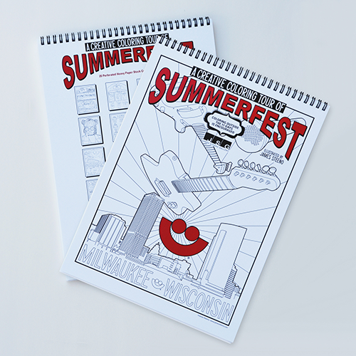 Picture of Summerfest Coloring Book