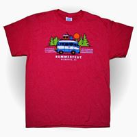 Picture of Youth Road Trip Red Heather Tee