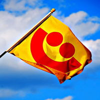 Picture of Summerfest Smile Flag