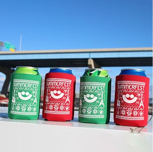 Picture of Summerfest Holiday Can Holders (4-Pk)