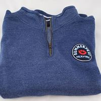 Picture of Navy Heather 1/4 Zip
