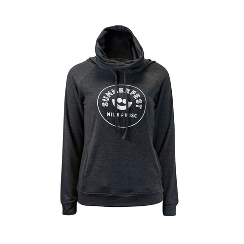 Picture of Cotton Cashmere Funnel Sweatshirt
