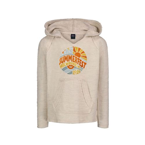 Picture of Youth Oatmeal Baja Hoodie