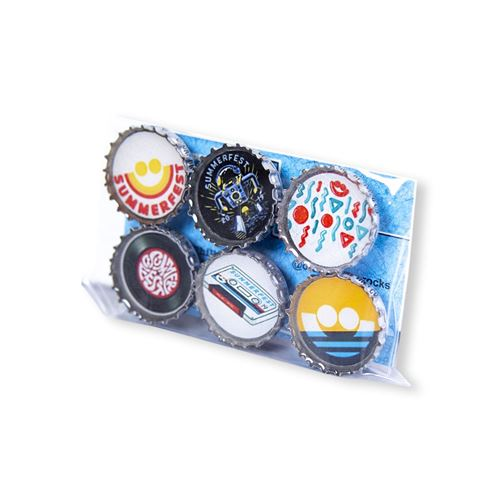 Picture of 2019 Bottle cap Magnet Set