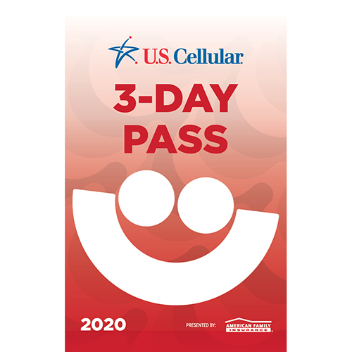 Picture of 2020 U.S. Cellular® 3-Day Pass