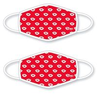 Picture of Summerfest Smile Mask Set of 2