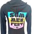 Picture of Black Sunset Full Zip Hood