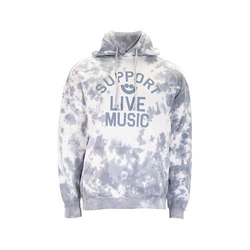 Picture of Support Live Music Tie Dye Hoodie