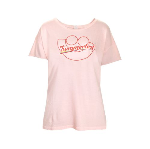 Picture of Faded Pink Rocker Tee